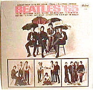 'Beatles 65' lp vinyl record (Image1)