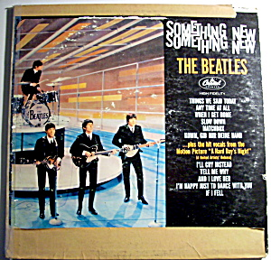 Something New - The Beatles vintage lp vinyl record (Image1)