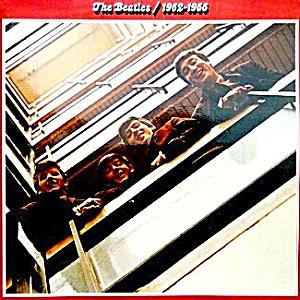 The Beatles 1962-1966  'Red' double lp album (Image1)