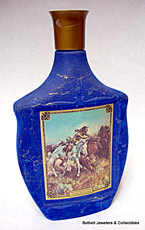 'Americana' series empty liquor bottle whiskey decanter (Image1)