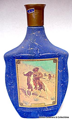'Americana' series empty liquor bottle whiskey decanter (Image1)