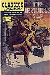 Classics Illustrated The Invisible Man Hrn 167