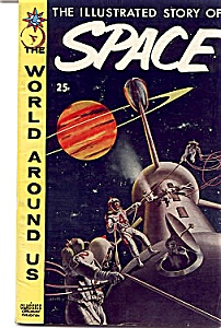 Classics Illustrated comic Story of Space (Image1)