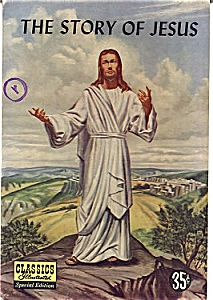 Classics Illustrated Comic The Story Of Jesus