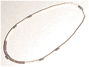 Shell Pipestone Beaded Necklace (Image1)