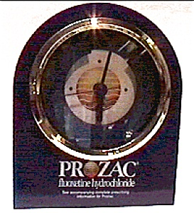 Prozac promotional quartz clock (Image1)