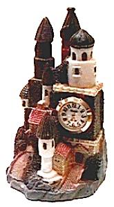 Castle figurine quartz clock (Image1)