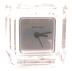 Boeing Quartz Mantel Clock