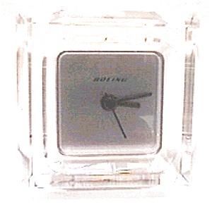 Boeing quartz mantel clock (Image1)
