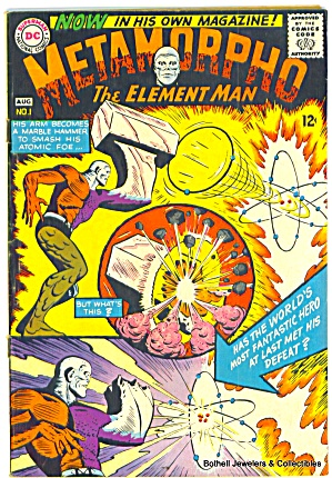 'metamorpho' Vintage Comic Vol.1, #1 From 1965