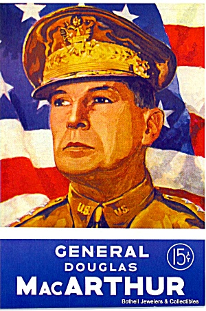 General Douglas Macarthur Comic Magazine 1944