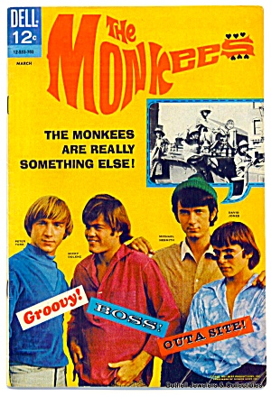 'The Monkees' #1 vintage comic (Image1)