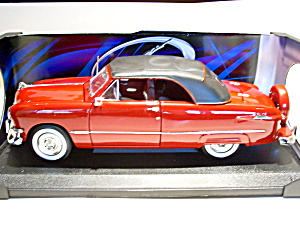 Ford 1950 Convertible Die Cast Model Car