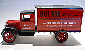 Vintage auto die cast 1931 Hawkeye truck coin bank (Image1)