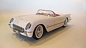 1954 Chevrolet Corvette Scale Model Car