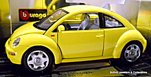 Volkswagen New Beetle 1998 Die Cast Car