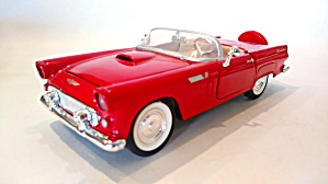 Ford Thunderbird Vintage Convertible Scale Model Car