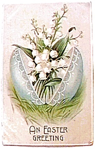 An Easter Greeting Postcard 1909 (Image1)