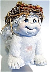Dreamsicles Smiling Angel Ceramic Figurine