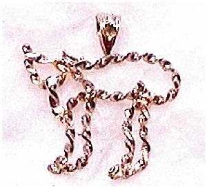 Chai 14K gold pendant (Image1)