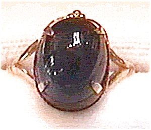 22K natural Star Sapphire ring (Image1)