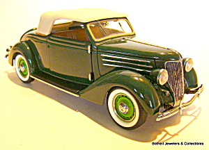 Franklin Mint 1936 Ford coupe 1/24 scale car (Image1)