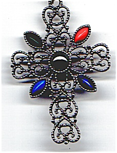 Avon  heart design ornate cross (Image1)