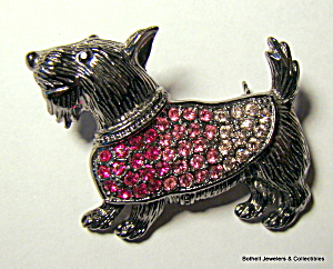 Scotty dog vintage brooch or pin (Image1)