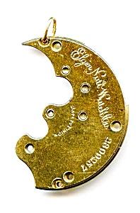 Steampunk antique pocket watch parts necklace pendant (Image1)