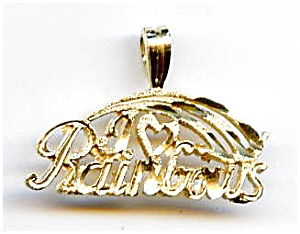 Rainbows 14k Charm Pendant