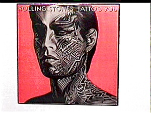 Rolling Stones Tattoo You vinyl lp record (Image1)