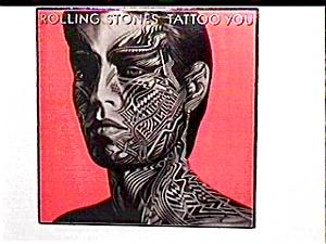 Rolling Stones Tattoo You vinyl lp record (Image1)