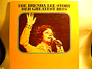 The Brenda Lee Story Her Greatest Hits Lp Vinyl Record
