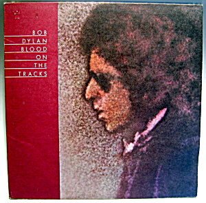 Bob Dylan 'Blood on the Tracks'  lp vinyl record 1974 (Image1)
