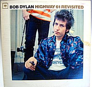 Bob Dylan 'Highway 61 Revisited' lp vintage record 1965 (Image1)