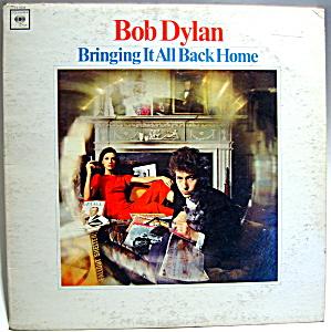 Bob Dylan 'Bringing It All Back Home' vintage lp record (Image1)