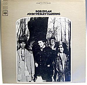 Bob Dylan 'John Wesley Harding' vintage lp record 1968 (Image1)