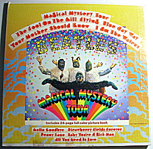 Beatles 'Magical Mystery Tour' vintage lp record 1967 (Image1)