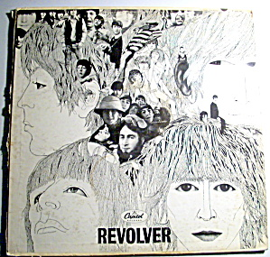 Beatles 'Revolver' vintage vinyl lp mono record (Image1)