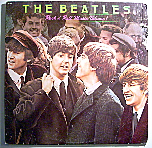 The Beatles 'Rock n' Roll Music, Volume 1' vintage lp (Image1)