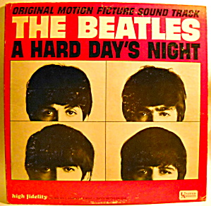 'A Hard Day's Night' Beatles LP vinyl mono record 1964 (Image1)