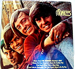 'The Monkees'  vintage stereo vinyl lp record (Image1)
