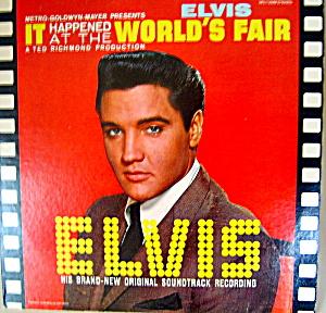 Elvis 'It Happened at the World's Fair' lp vinyl record (Image1)