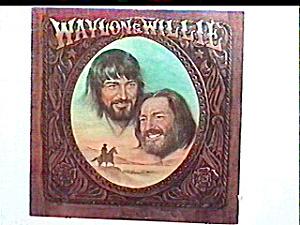 'Waylon & Willie' lp vinyl record (Image1)