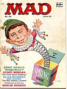 Mad magazine #33, 1957 (Image1)