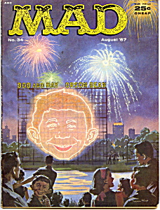 Mad magazine #34, 1957 (Image1)
