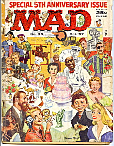 Mad magazine #35, 1957 (Image1)