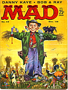 Mad magazine  #43, 1958 (Image1)