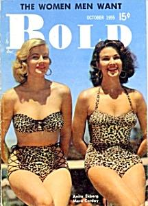 'Bold' vintage mini-magazine 1955 Anita Ekberg (Image1)