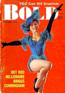 'Bold'  vintage mini-magazine 1954 Debra Paget (Image1)